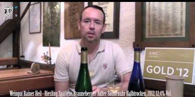 TLTV #55 Deutsch: Weingut Rainer Heil Teil 2 Traubenliebe TV Verkostung