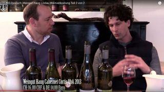TLTV #93 Deutsch: Weingut Haug Lindau Weinverkostung Teil 2 von 2