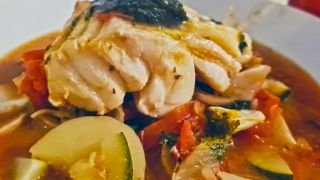 Italian Sunshine Fish Stew